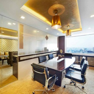 Greeen Office Interior Design