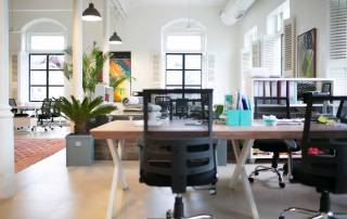 green office space design