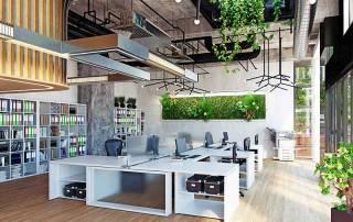 Future Office Interior Design Singapore